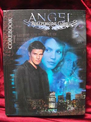 VERY RARE - ANGEL ROLEPLAYING GAME CORE RULEBOOK. Buffy Vampires Cult RPG OOP