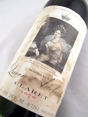 1970 WOODLEY WINES Queen Adelaide Red Blend A Isle of Wine
