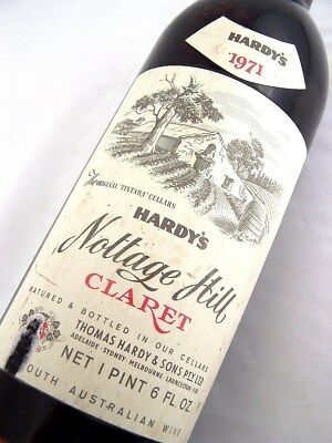 1971 HARDYS Nottage Hill Claret Shiraz Isle of Wine