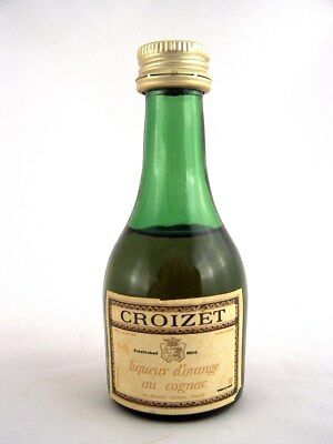 Miniature circa 1971 CROIZET LIQUEUR d'ORANGE au COGNAC Isle of Wine