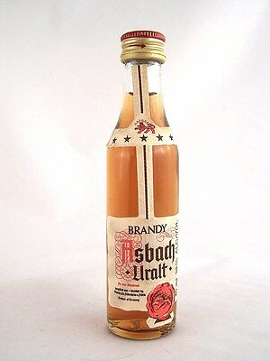 Miniature circa 1980 ASBACH-URALT BRANDY Isle of Wine