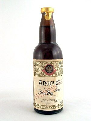 Miniature circa 1965 ANGOVE'S FINO DRY SHERRY Isle of Wine