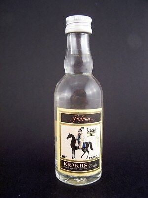Miniature circa 1985 POLMOS KRAKUS VODKA Isle of Wine
