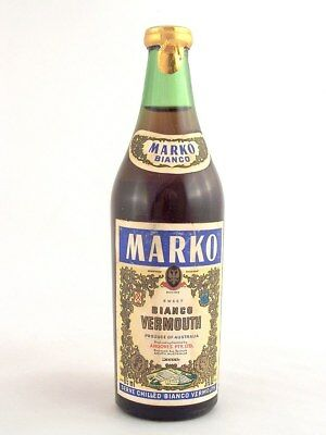Miniature circa 1974 MARKO SWEET BIANCO VERMOUTH 85ml Isle of Wine