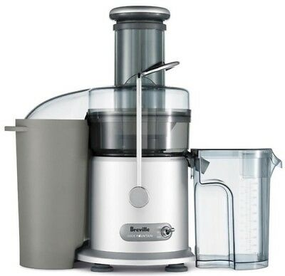 Breville 1200W Juice Fountain (1L juice jug) JE95SIL Silver New
