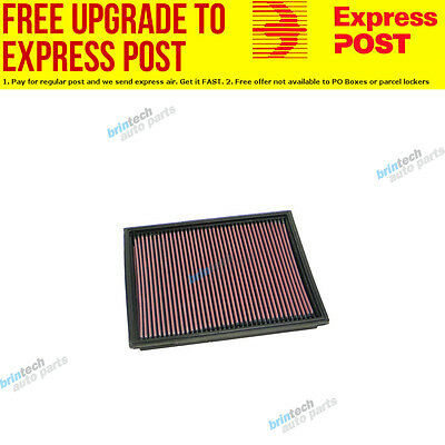 K&N 33-2208 Replacement Panel Filter Suit Holden Zafira 2.0L