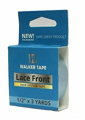 New Walker Professional Lace Front Support Toupee Blue Liner Tape 3 Yard Roll
