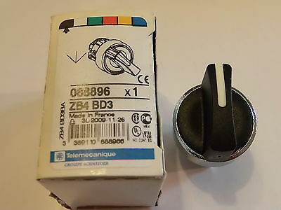 Zb4Bd3 - Switch Head, 22Mm, Selector, 3Way Schneider Electric / Telemecanique