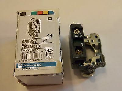 ZB4BZ101 N/O Panel Mounted Contactor Block SCHNEIDER ELECTRIC / TELEMECANIQUE