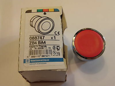 Zb4Ba4 - Pushbutton Head, Harmony Xb4, 22Mm Schneider Electric / Telemecanique