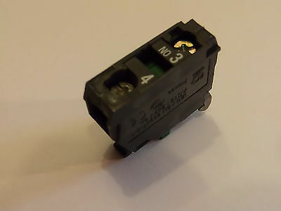 Zbe101,contact Block, 1No Schneider Electric / Telemecanique