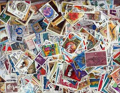 Russia Pictorial Stamps Collection - 1,000 Different Large Stamps
