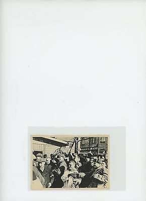 WW2 Concentration Camp soldiers & men  cheering USSR Ukranian MVD archives
