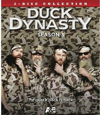 Duck Dynasty: Season 3 [New Blu-ray] 2 Pack, Ac-3/Dolby Digital, Digital Theat