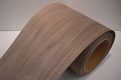 Real wood Veneer Walnut american with Hot melt adhesive iron-on 30 cm Bre