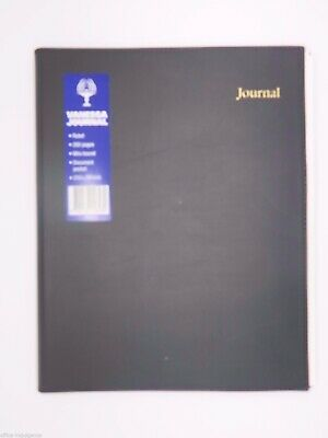 1 x Collins Debden Black Vanessa Journal Lined A4 NB325^