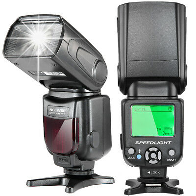 Neewer E-TTL Speedlite Flash with LCD Display Diffuser Bag Kit for Canon DSLR