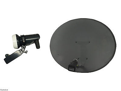 Sky / Freesat Satellite Dish with Single LNB, use for Sky or Free TV