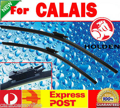 Pair Frameless Windscreen Wiper Blade Holden CALAIS VE VF 2006 - 2016