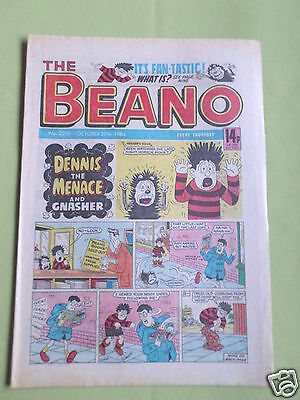 The Beano  - Uk Comic -  27 Oct 1984 - # 2206