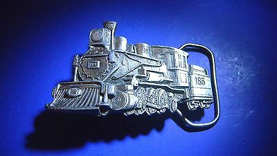 Beautiful 3D Steam Locomotive Belt Buckle by The Great American Buckle Co. 1981