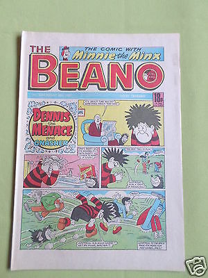 The Beano  - Uk Comic - 29 Aug 1987 - # 2354