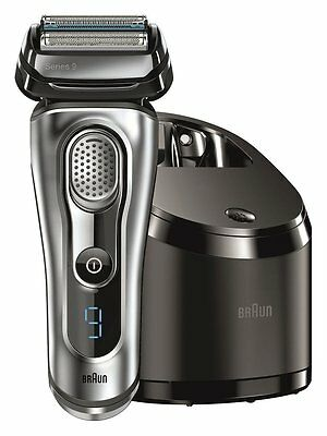 Braun Men's Shaver Series 9 9090CC 4 blades Cleaning Center Set AC100V - 240V