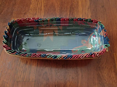 Longaberger 1987 Small Bread Basket Or Fathers Day Spare Change