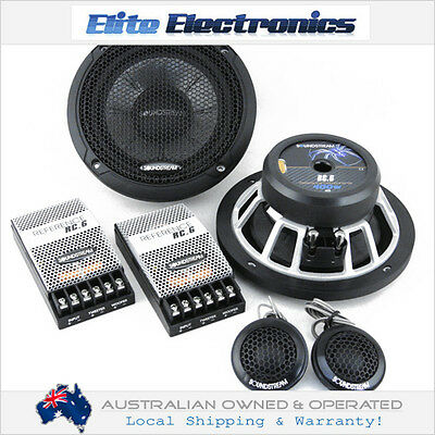 "Soundstream Rc.6 6.5"" Reference Series 400W Component Split System Car Speakers"