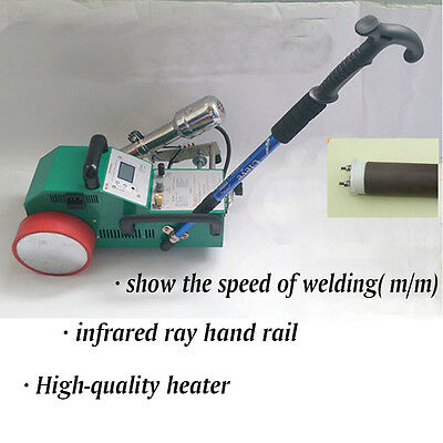 Automatic PVC Banner Welder Welding machine Heater Hot Air 1800W 110V