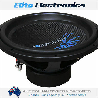 "Soundstream R3.15 Reference R3 Series 15"" 900W Rms Subwoofer 2-Ohm Dvc Car Sub"