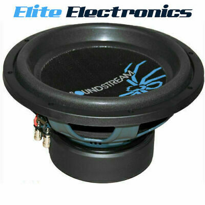 "Soundstream R3.12 Reference R3 Series 12"" 800W Rms Subwoofer 2-Ohm Dvc Car Sub"