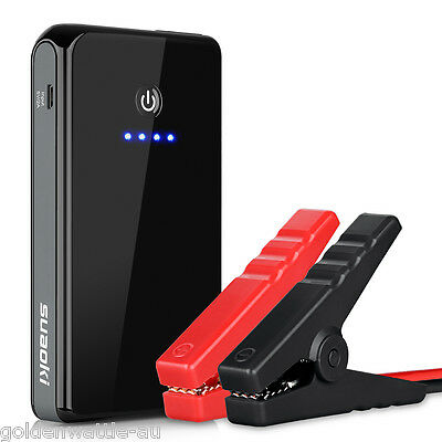 Portable Vehicle Car Jump Starter Emergency Minimax Backup Power Charger 8000mAh