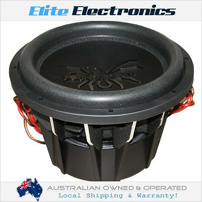 "Soundstream T5.122 Tarantula Series 12"" 1000W Rms Subwoofer 2-Ohm Dvc Car Sub"
