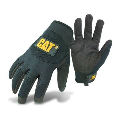 New Caterpillar Padded Palm Utility Water-Resistance Work Mechanic Safety Glove