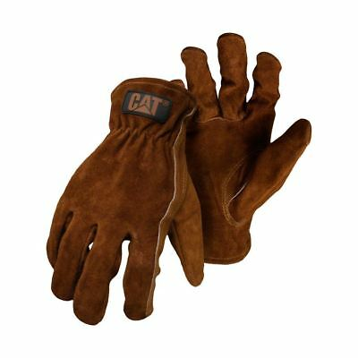 New Caterpillar CAT Leather Rigger Work Safety Truckie Glove Package Deals Cheap