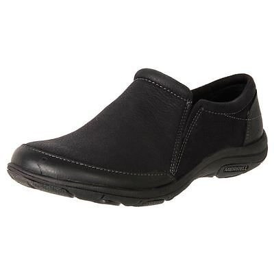 New Merrell Women's Leather Comfort Slip On Duty Work Shoe Dassie Moc Cheap