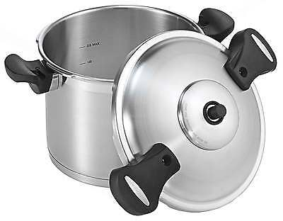 Scanpan Pressure Cooker 24cm/8ltr RRP $299.00 Suitable Induction, Steamer
