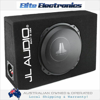 "Jl Audio Cs112Tg-Tw 12"" 400W Rms Shallow Loaded Enclosure Truck Subwoofer Box"