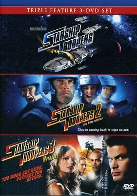 Starship Troopers 1-3 [New DVD]