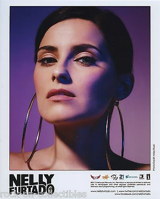 Nelly Furtado 2012 Original Color Press Photo