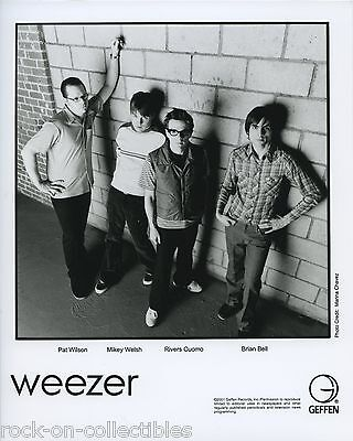 Weezer 2001-2009 Lot of 3 Original Color & B/W Press Photos