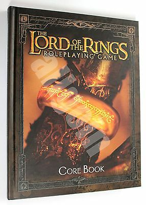 The Lord Of The Rings ROLEPLAYING GAME CORE BOOK 2002 Decipher CODA System