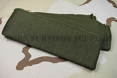 NEW US ARMY SCARF 100% WOOL - Olive Green Neck Warmer Wrap USA Military Surplus