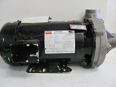 Dayton Pump Motor 2Zxl6 Pp2Ltag23Tcg Phase 3 Inlet 1 1/2 Outlet 1 1/4 3Hp