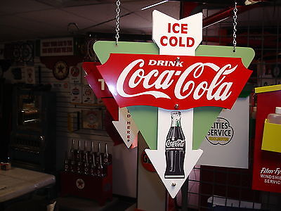 Coca-Cola 1940S 1950S 1960S Bottle Style Nostalgic 3-D Advertising Sign