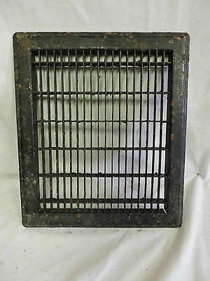 Vintage 1920S Cast Iron Heating Grate Cover Rectangular 14 X 12