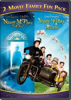 Nanny McPhee 2-Movie Family Fun Pack [New DVD] Snap Case
