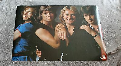 ASIA 1980s PROG Rock Downes Palmer Coulson Wetton Holland Poster #RO 103 VGEX