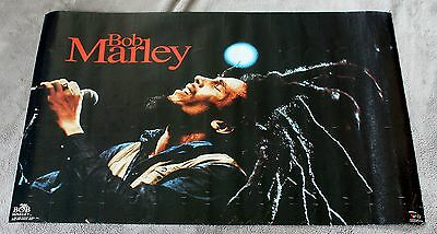 Bob Marley Pray 1992 Live Microphone Concert Funky Music Poster #3345 GVG C5